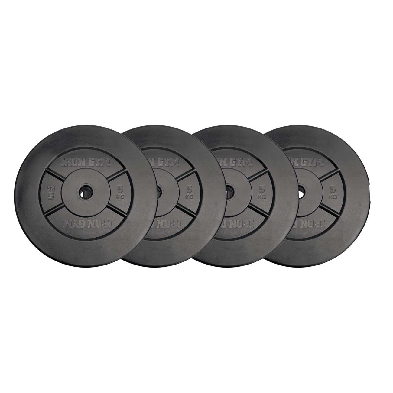 dischi per bilancieri 20kg 5kg x 4